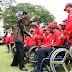 Jokowi Lepas Kontingen Asian Para Games 2018