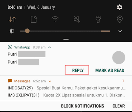 Cara agar whatsapp tidak terlihat online - 7