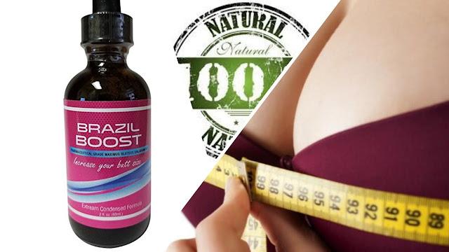 Gotas naturales para hacer que los senos crezcan de forma natural.