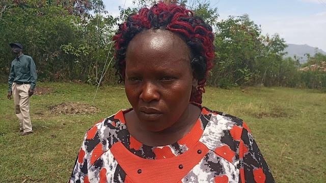 Late Sharon Otieno's mother Melida Auma photo