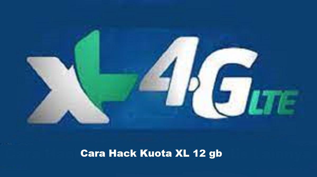 Cara Hack Kuota XL 12 GB