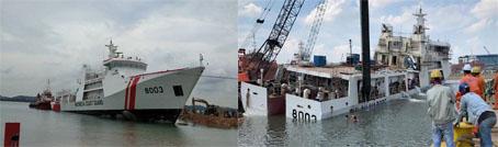 Belum Serah Terima Sudah Tenggelam, Proyek Kapal Bakamla di Tengarai Rugikan Negara 463 Milyar
