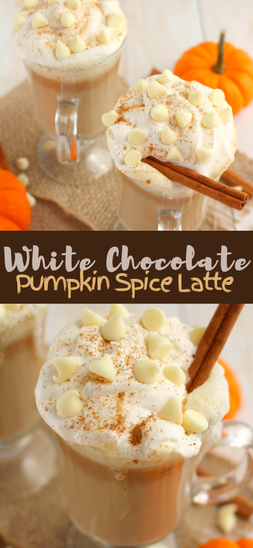 White Chocolate Pumpkin Spice Latte #healthydrink #drinkrecipe #smoothiehealthy #cocktail