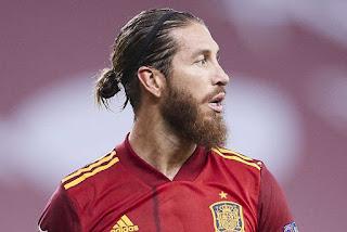 راموس بقميص اسبانيا