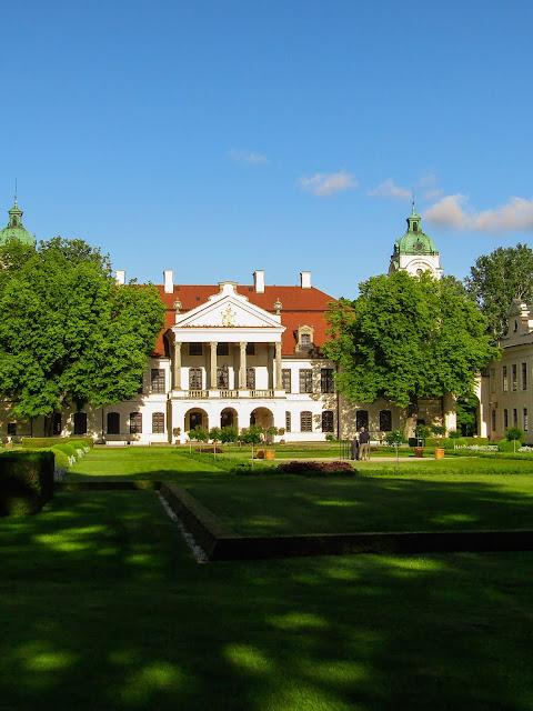 muzeum, pałac, wycieczka rowerowa, Zamoyscy, zabytek