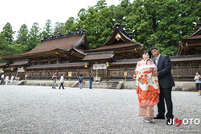 熊野本宮大社へお宮参り出張撮影