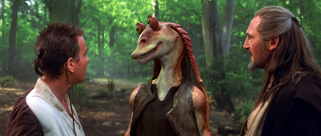 Jar Jar Binks quotes from The Phantom Menace