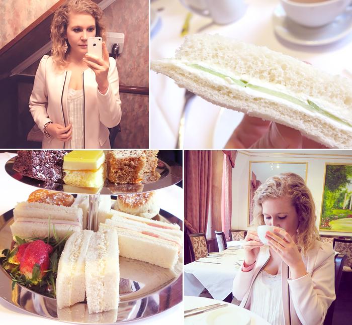 London Tea Time mit Etagere