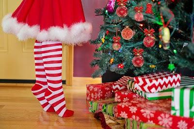 Cheerful Christmas kid