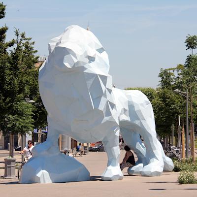 One of many public art pieces, Stalingrad.