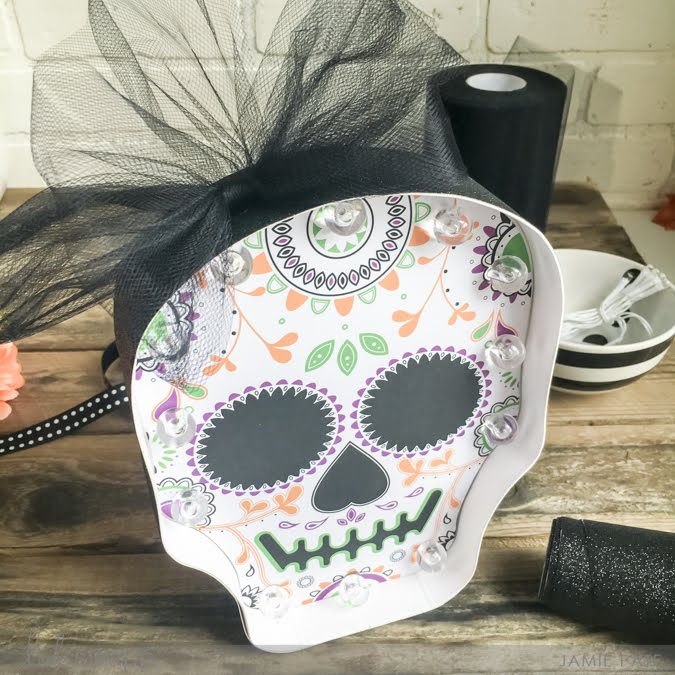 Marquee Love Sugar Skull Kit now at Michaels Stores by Jamie Pate | @jamiepate for @heidiswapp