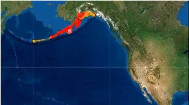 Terremoto de 7,8 grados y alerta de tsunami, Alaska