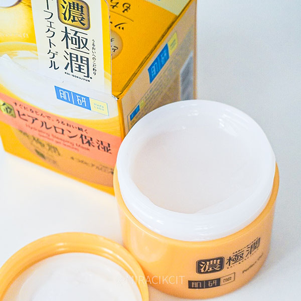 Hada Labo Hydrating Sleeing Mask Perfect Gel Review