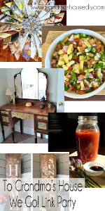 Scratch Made Food! & DIY Homemade Household featured at Grandma's House We Go Link Party.