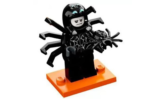 Lego Collectible Minifigures Series 18: Spider Suit Character