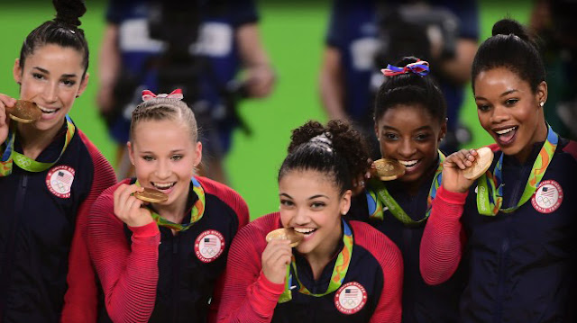 Simone Biles and the USA Gymnastics Team