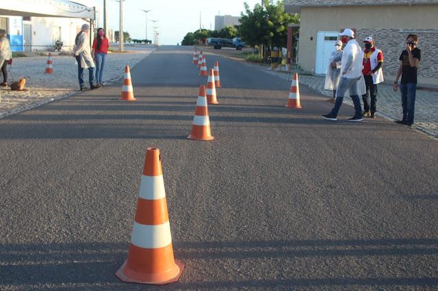 Prefeitura de Caraúbas dá início a execução do Lockdown que perdurar por 10 dias