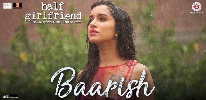 Baarish | Half Girlfriend | Guitar chords | Strumming