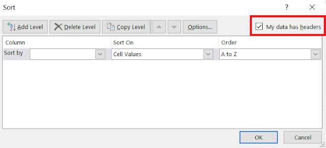 Cara Mengurutkan Data di Excel Berdasarkan Kriteria Tertentu Yang Kita Buat Sendiri