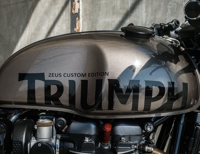 Triumph Thruxton R1200 By Zeus Custom Hell Kustom