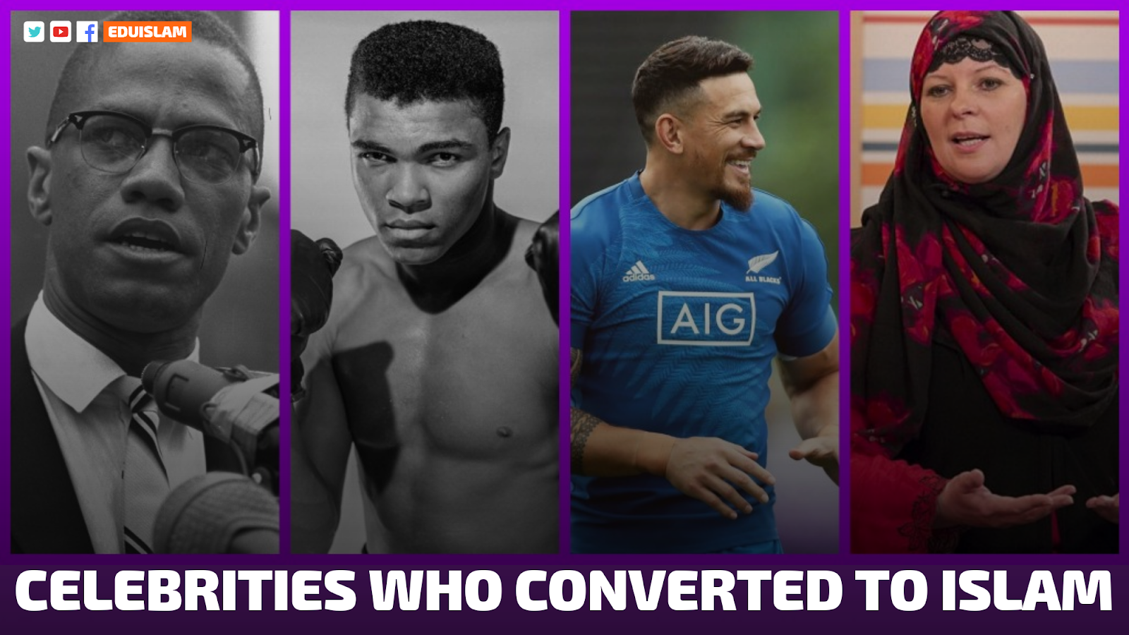 list of celebrities converted to Islam, famous Indian celebrities who converted to Islam, priest converted to Islam, cricket players converted to Islam, Christian converted to Islam, 2018, 2019, 2020, Famous Muslim Celebrities