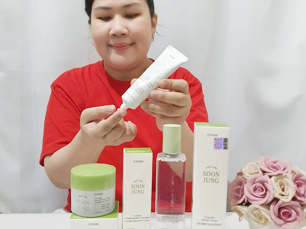 Review ETUDE HOUSE Soon Jung Centella Series