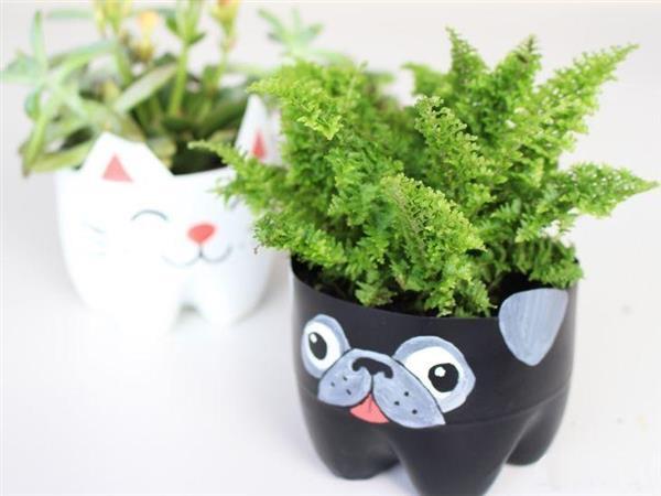 Vasos de Garrafa Pet Cachorro