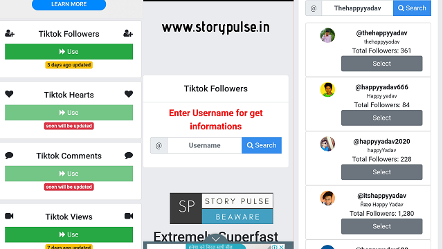 tik tok auto followers