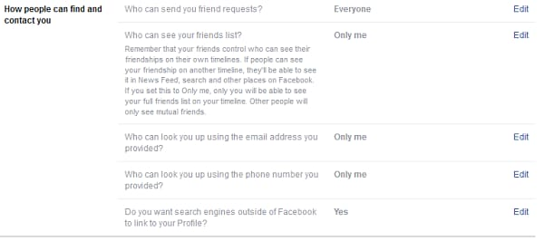 How people can find and contact you