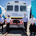 Se inauguró el retorno del tren de pasajeros que llega hasta Pinamar