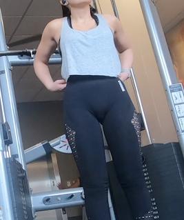 Videos mujeres sexis gym leggins entallados