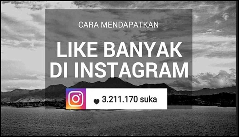 cara menambah like instagram tanpa password