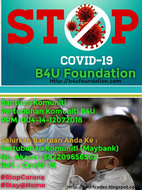 Covid-19 Bantuan Komuniti B4U FOUNDATION