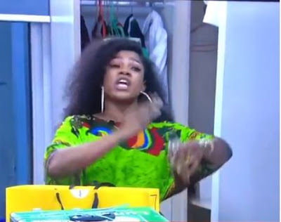 "#BBNaija: ""Black Knuckles And Bleaching Ambassador"" - Tacha Blast Mercy"