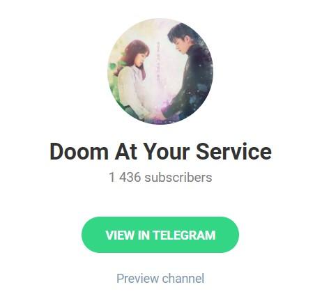 Doom at Your Service Telegram