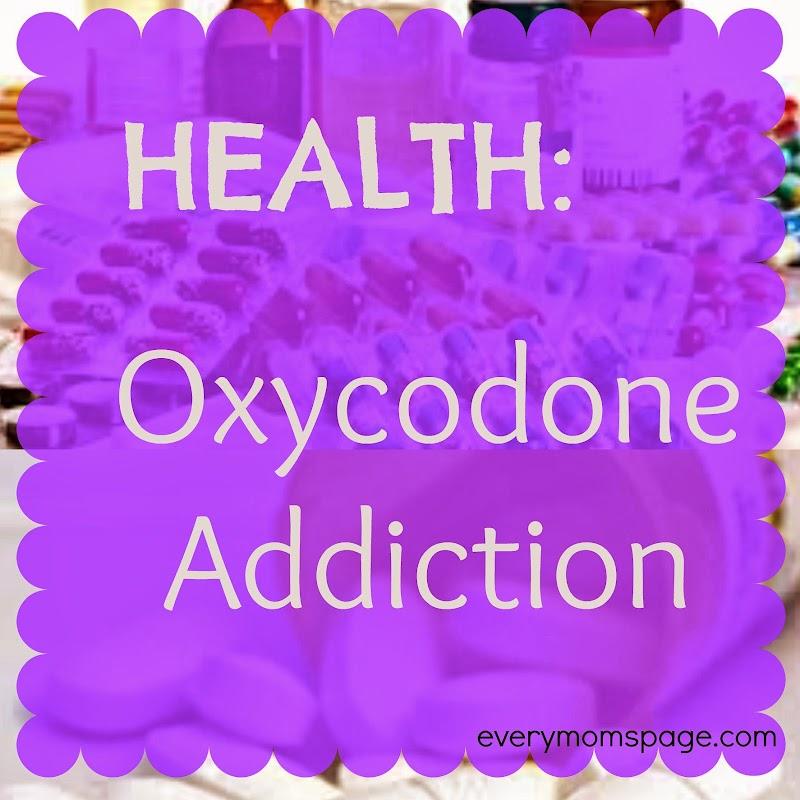 Health: Oxycodone Addiction
