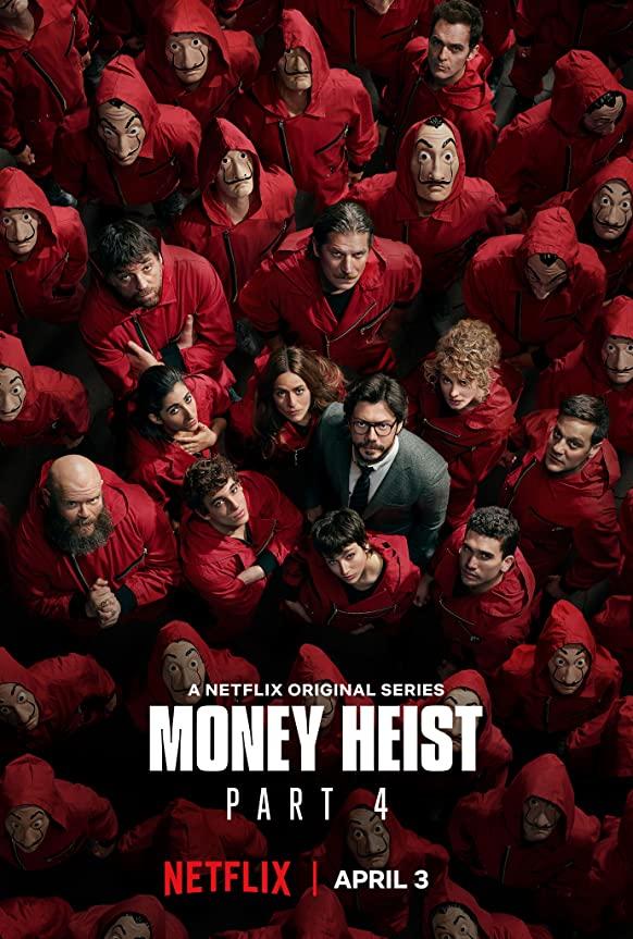 Download Money Heist Season 4 in Hindi Dual Audio BluRay 720p [400MB]