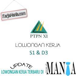 Lowongan Kerja PT Perkebunan Nusantara XI (PTPN XI)