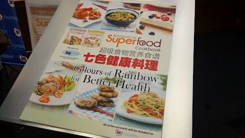 Jualan Buku Superfood Cookbook Bantu Kutipan Dana Yayasan IJN