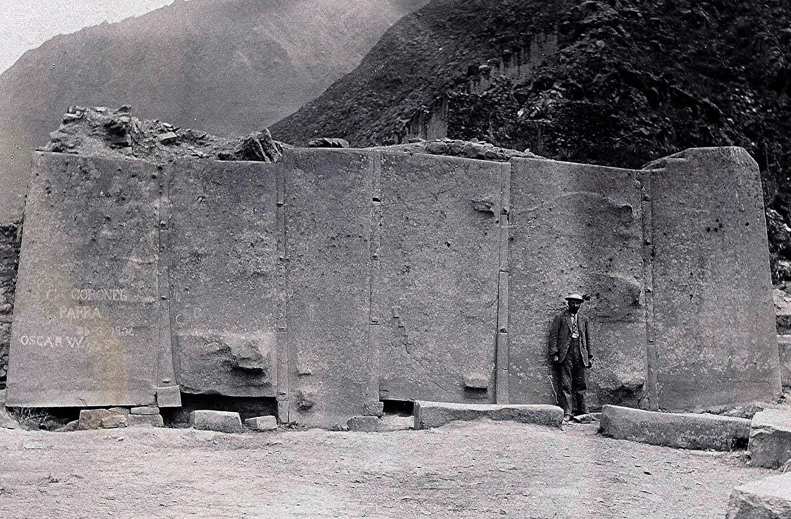 Muros cíclopes de Ollantaytambo