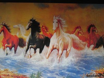 Lukisan Kuda Liar Jeneponto