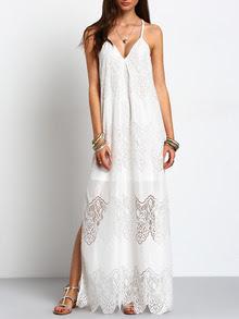 www.shein.com/Cream-Deep-V-Neck-Split-Slip-Maxi-Dress-p-267788-cat-1727.html?aff_id=2687