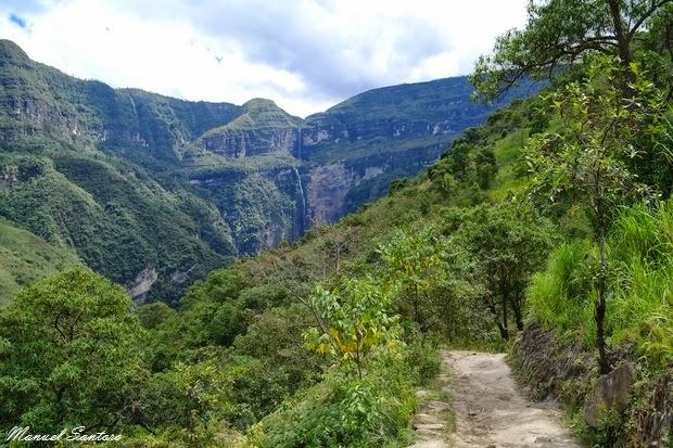 Sentiero per la Catarata de Gocta