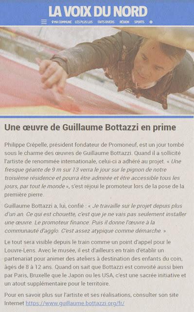 Bottazzi art hauts de France Lens