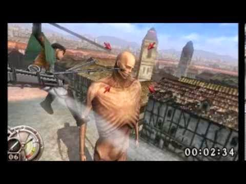 Attack On Titan 3DS Game Rom