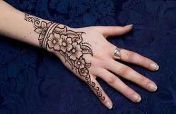 Mehndi Designs For Hands Very Simple : Easy and simple mehndi designs for kids hands collection