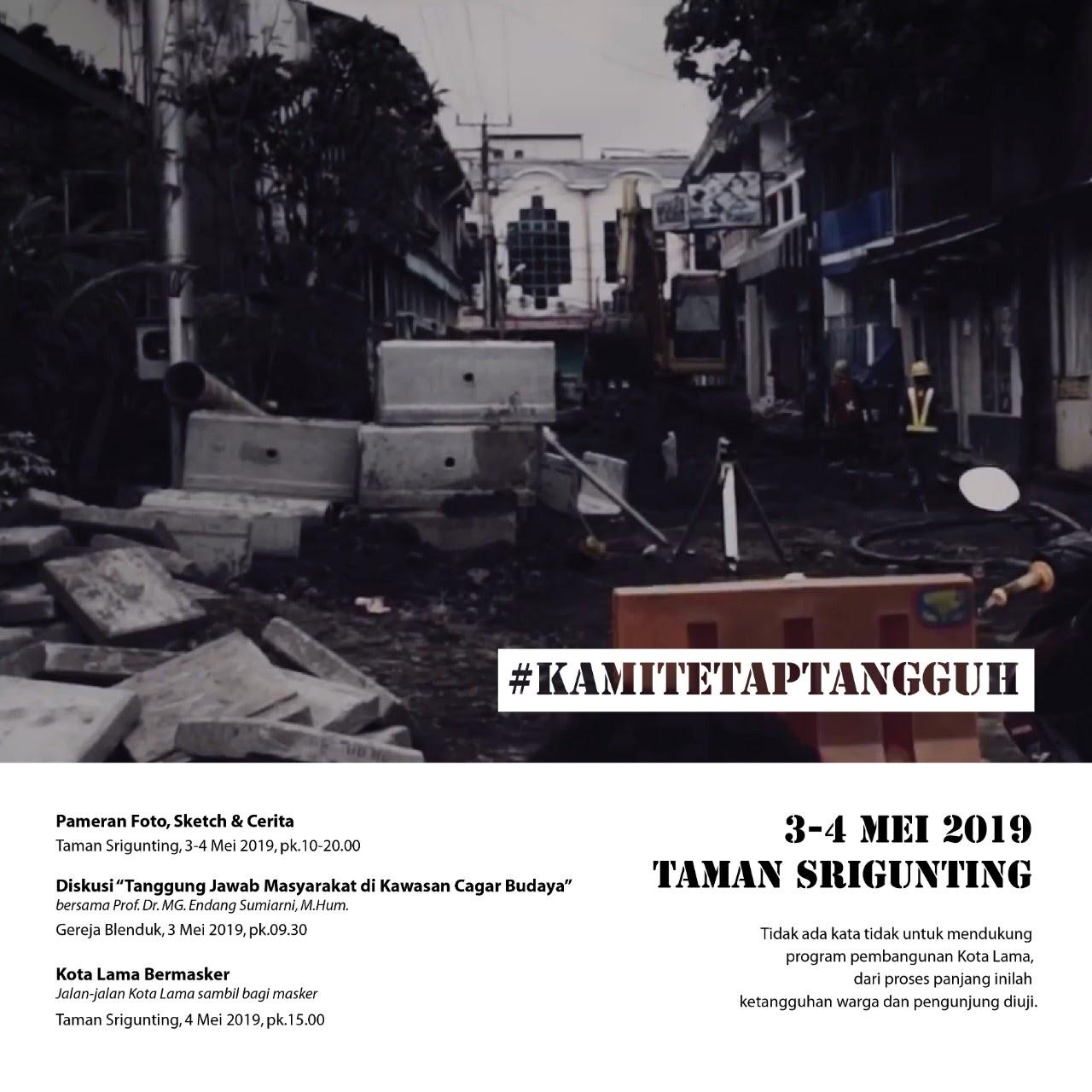#KamiTetapTangguh, Acara Forum Warga Kota Lama Meriahkan HUT Kota Semarang Ke-472