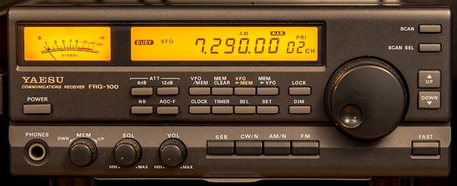 Yaesu FRG-100 Receiver