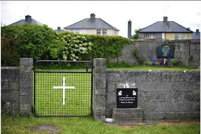 Descubren bebés y niños enterrados en un convento de Irlanda