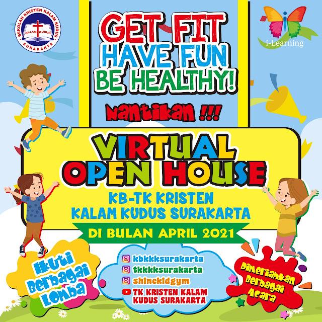 KB-TK Kalam Kudus Gelar Virtual Open House di Bulan April